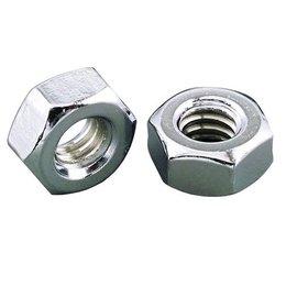Gardner-Westcott Hex Nuts Coarse 1/4-20 ZINC 100 Pack Unpainted