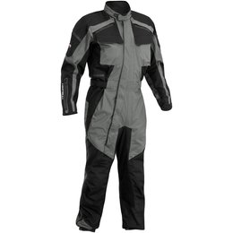 Black Firstgear Mens Tpg Expedition One Piece Waterproof Textile Suit 2014
