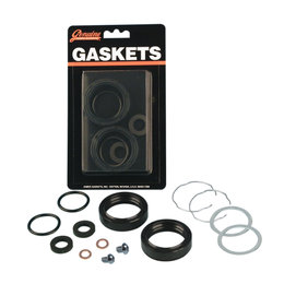 James Gaskets 41.3mm OD Front Fork Oil Seal Kit For Harley-Davidson JGI-45849-77