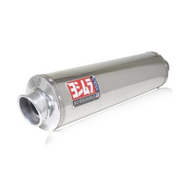 Stainless Steel Sleeve Muffler Yoshimura Exhaust Rs3 Bolt-on Stainless For Kawasaki Zx7 96-03