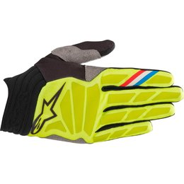 Alpinestars Mens Aviator Gloves Yellow