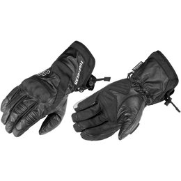 Black Firstgear Mens Navigator Leather Gloves 2014