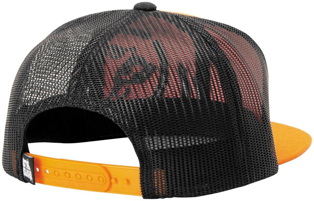 ... italy orange msr mens metal mulisha grip snapback adjustable hat 2014  black orange 58e26 1cfe9 822902a72d84