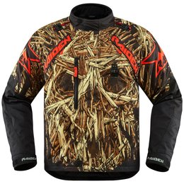 Icon Mens Raiden DKR Splintered Textile Jacket