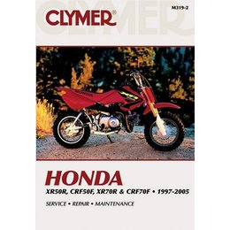 Clymer Repair Manual For Honda XR50R/70R CRF50R/70F 97-05