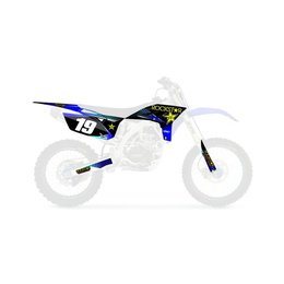 Factory Effex Rockstar Shroud And Trim Graphic Kit For Yamaha YZ450F 15-02248