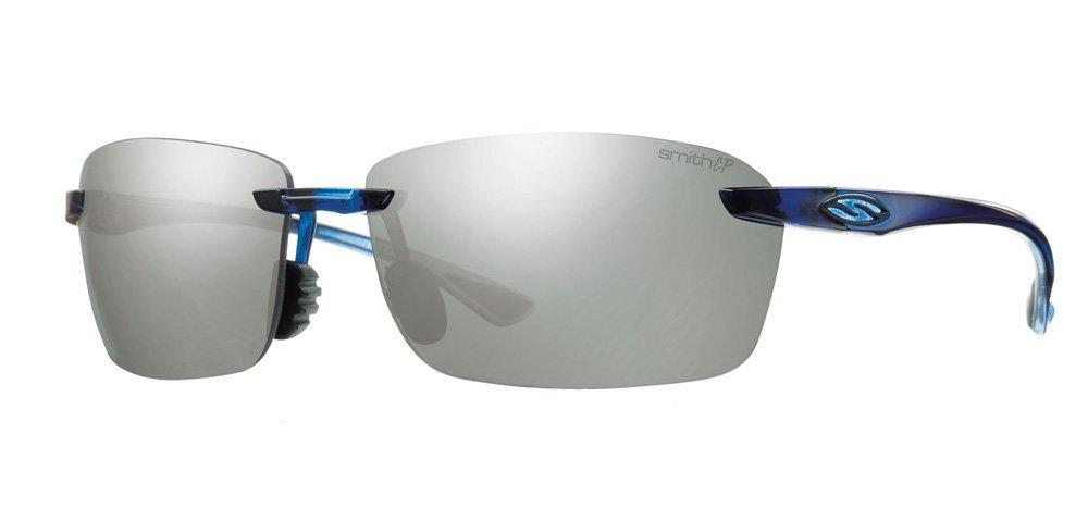 73a35a7402586 ... Grey Midnight Blue platinum Smith Optics Mens Trailblazer Sunglass W  Chromapop Polar Lens 2014 Mid Blue ...