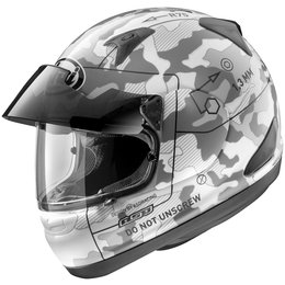 White Arai Signet-q Pro-tour Tactical Full Face Helmet
