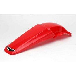 UFO Plastics Rear Fender Red For Honda CRF 450R 02-04