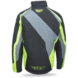 Fly Racing Mens Outpost Windproof Waterproof Snow Jacket Black