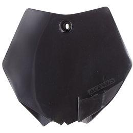 Acerbis Front Number Plate For KTM 65 SX 2009-2015 Black 2253010001 Black