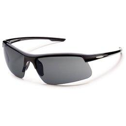 Black/grey Suncloud Mens Flyer Sunglasses With Polarized Lens 2014 Black Grey
