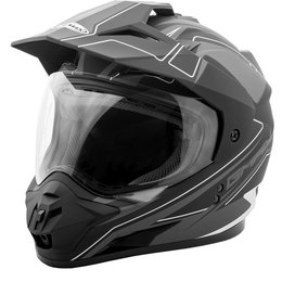 GMAX GM11 Expedition Adventure Helmet Black