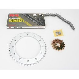 RK Chain/Sprocket Kit 520 O For Suzuki GSX-R600 2011-2015 3066-119S Unpainted