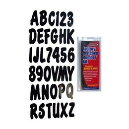 Black Hardline Econ-registration Number Kit