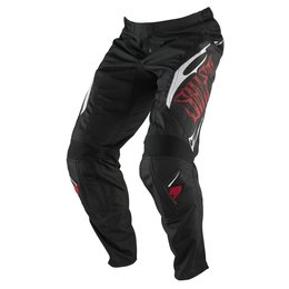 Black, Red Shift Racing Mens Assault Pants 2013 Us 30 Black Red