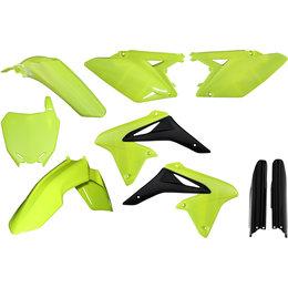 Acerbis Full Plastic Kit For Suzuki RMZ450 2008-2016 Flo Yellow 2198044310 Yellow