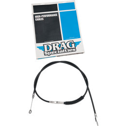 Drag Specialties 68-11/16 Inch Black Vinyl Clutch Cable For Harley 38789-06A Black