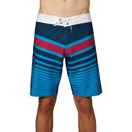 Fox Racing Mens Double Down Boardshorts Blue