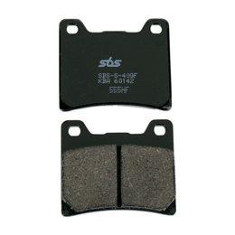 SBS Ceramic Brake Pads Single Set Only Yamaha 555HF Unpainted