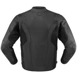 Stealth Icon Mens Hypersport Leather Jacket 2014
