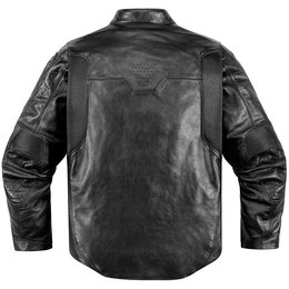 Icon Mens 1000 Collection Retrograde Armored Leather Jacket Black