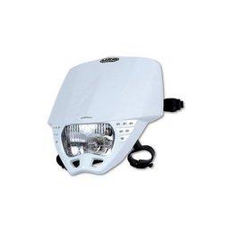 UFO Plastic Cruiser Headlight White Universal