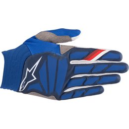 Alpinestars Mens Aviator Gloves Blue