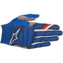 Alpinestars Mens Aviator Gloves Blue