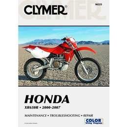 Clymer Repair Manual For Honda XR650R XR-650R 00-07