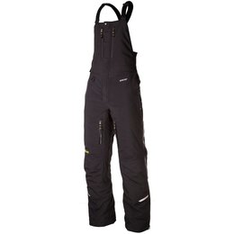 Klim Mens Rohn Gore-Tex Nylon Breathable Textile Snowmobile Bibs Black