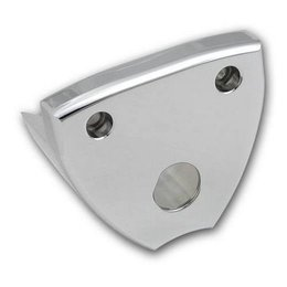 Pro-One Performance Key Switch Bracket Chrome For Harley Davidson