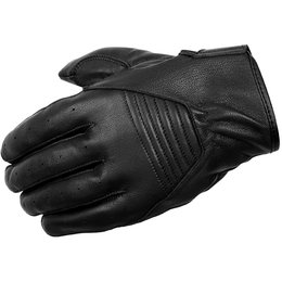 Scorpion Mens Short-Cut Leather Gloves Black