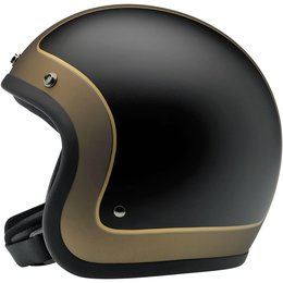 Biltwell Limited Edition Bonanza Tracker Open Face Helmet Black