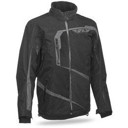 Fly Racing Mens Carbon Snow Jacket Black