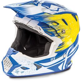 Fly Racing Toxin Resin Graphic MX Helmet White