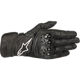 Alpinestars Mens SP-2 V2 Leather Gloves Black