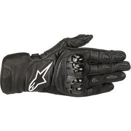 Alpinestars Mens SP-2 V2 Leather Gloves Black