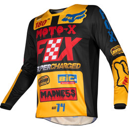 Fox Racing Kids Boys 180 Czar Jersey Black