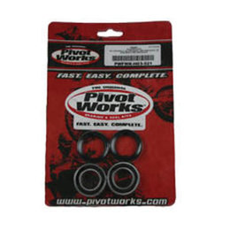 N/a Pivot Works Wheel Bearing Kit Front For Honda Cr125r Cr500r