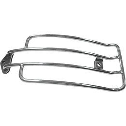 HardDrive Solo Luggage Rack For Harley-Davidson Chrome C77-0080 Unpainted