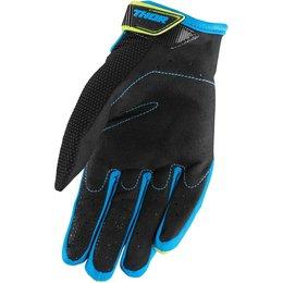 Thor Youth Boys Spectrum MX Gloves Green