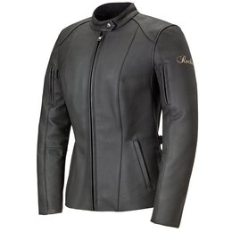 Black Joe Rocket Womens Trixie Leather Jacket 2014