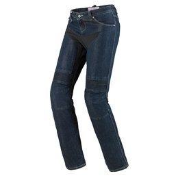 Spidi Sport Womens Furious Armored Denim Riding Jeans Blue