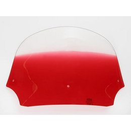 Memphis Shades Batwing 9 Inch Windshield Ruby