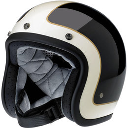 Biltwell Limited Edition Bonanza Tracker Open Face Helmet Black
