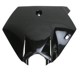 Acerbis Front Number Plate For KTM 85 SX 105 SX Black 2253080001 Black