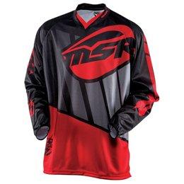 Black, Red, Grey Msr Mens Renegade Jersey 2015 Black Red Grey