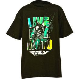 Black Fly Racing Boys Live For Moto T-shirt 2015
