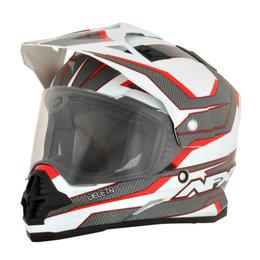 AFX FX-39DS FX39 DS Veleta Dual Sport Adventure Helmet Red
